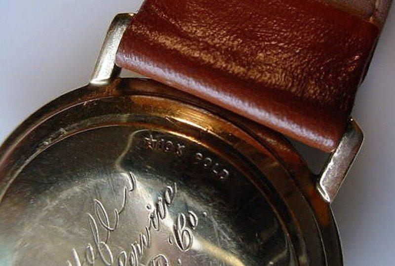 10K GENT'S 25JEWEL LORD ELGIN... SWISS MOVEMENT 1968