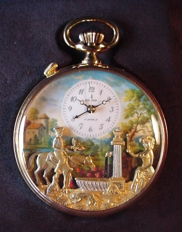 REUGE MUSIC *ROMANCE* POCKET WATCH wAutomata