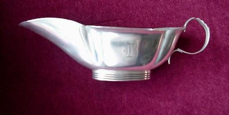 Antique Sterling SAUCE BOAT by GORHAM