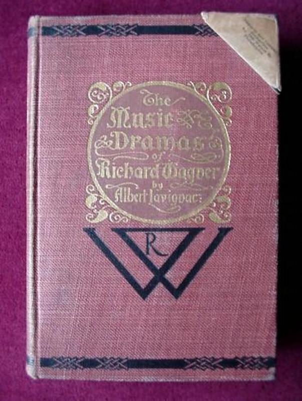 ANTQ...MUSIC of R. WAGNER {1898 A. LAVIGNAC