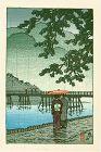 Kawase Hasui Japanese Woodblock Print - Arashiyama SOLD