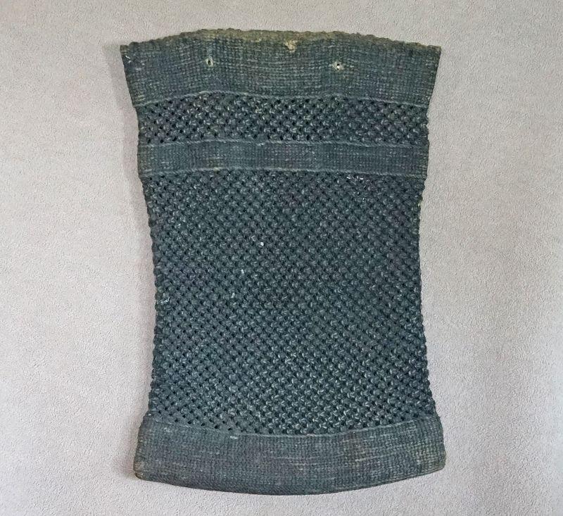 Antique Japanese hand made cotton rural sack