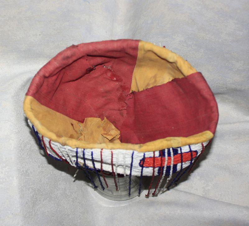 African Yoruba Tribal Beaded Crown
