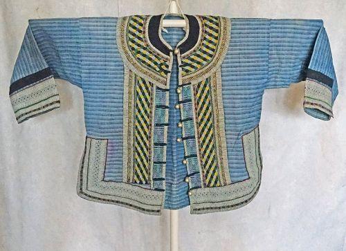 Vintage Chinese Yi Ethnic Minority young girls jacket
