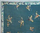Antique Qing Dynasty Chinese embroidery panel scarf shawl