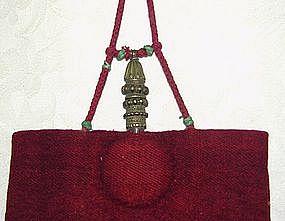 Tibetan Buddhist Monks Qia-Bu-lu Medicine Bottle Bag