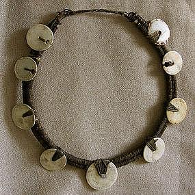 Indonesian Shell Necklace Irian Jaya Papua New Guinea