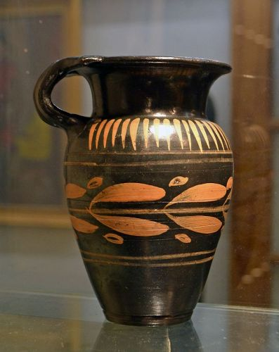 A LARGE ANCIENT GREEK XENON WARE MUG