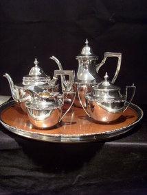 Shreve & Co. Sterling  Tea Set