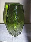 Etched Moser Vase
