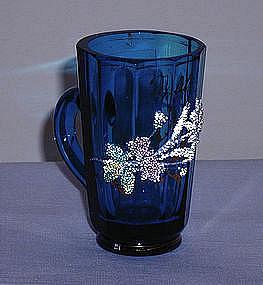 Blue Coralene Spa Cup