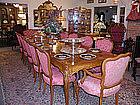 16 piece Acacia Dining Room Set
