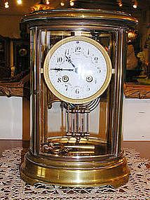 Tiffany & Co. Crystal Regulator Clock