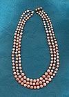 DeMario Three Strand Necklace