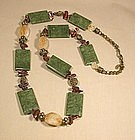 MAYA JADE NECKLACE