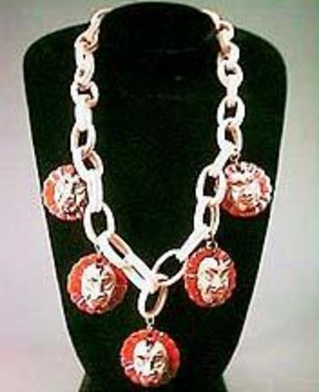 Unusual Bakelite Necklace