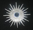 STAR BURST BROOCH FROM THE 1940s