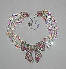 HOLLYCRAFT BOW NECKLACE