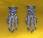 Hattie Carnegie Dangle Earrings