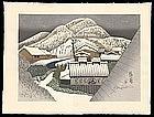 Kambara - Woodblock - Sekino's Tokaido Road