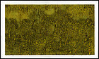 Large Numbered Joichi Hoshi Woodblock - Forest (yellow)