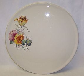 Coors Thermo Porcelain 11 Inch FLORAL CAKE PLATE