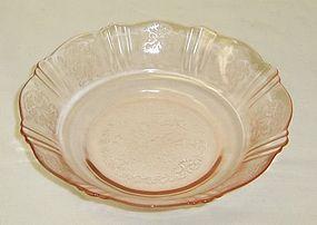 MacBeth Evans Pink AMERICAN SWEETHEART CEREAL Bowl
