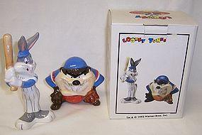 Looney Tunes 93 TAZMANIAN-BUGS BUNNY Salt and Pepper