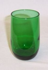 Anchor Hocking Forest Green 3 3/8 Inch JUICE TUMBLER