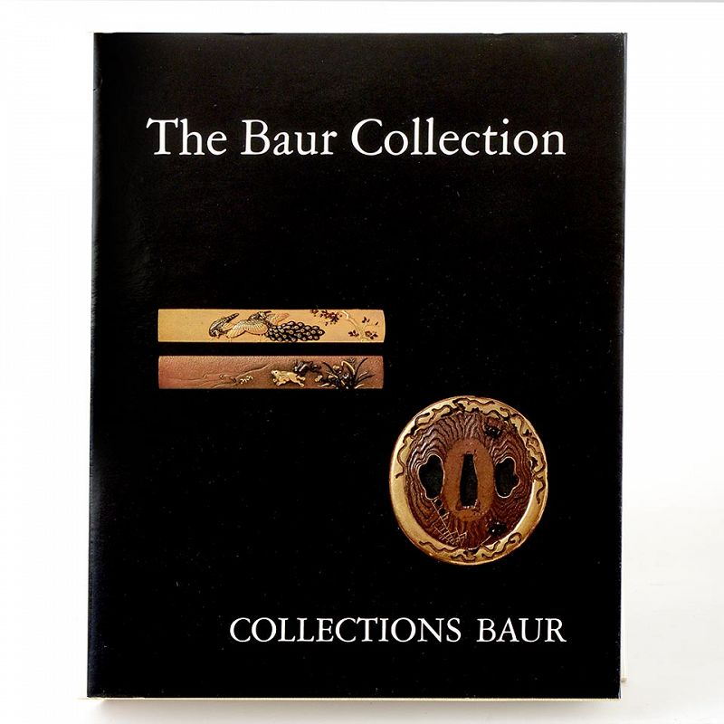 """The Baur Collection """"Japanese Sword-Fittings"""" by B.W. Robinson, Lim."""