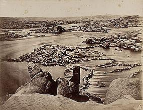 Early Original Albumen Photograph: Egypt, Nile. C. 1875
