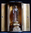 Japanese Buddhist sculpture Jizo Bosatsu Zushi Edo 19 c