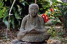 Stone Sculpture Jizo Bosatsu Bodhisattva Edo 18 c.