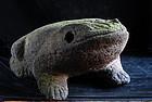 Stone Frog Kaeru Japanese Garden Lantern Edo 19 c.