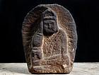 Stone Nyoirin Kannon Bosatsu Sandstone Edo 17/18 c.