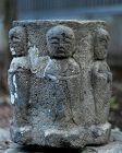 Six-Jizo Sekidou Stone Lantern mid-Edo ca. 1750
