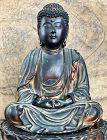 Seated Gilt-Wood Amida Nyorai Buddha Kei School Momoyama ca. 1575