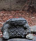 Stone Frog Toad Kaeru Jizo Buddha Lantern Meiji 19 c.