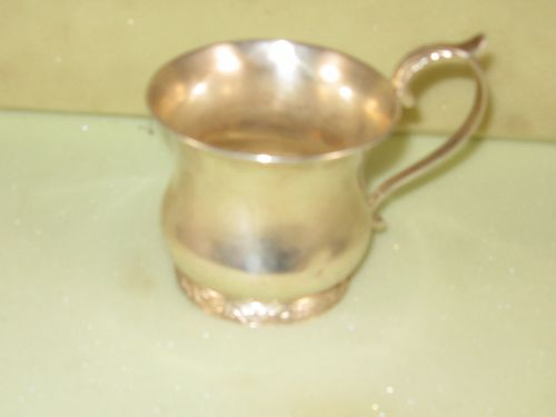 Child's cup by Taylor&Lawrie, Philadelphia, circa 1840