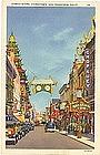 China Town, San Francisco, Postcard