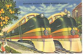 Linen Postcard, The Orange Blossom Specials, Tichnor
