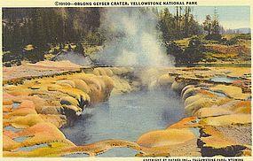 """""""Oblong Geyser Crater"""""""