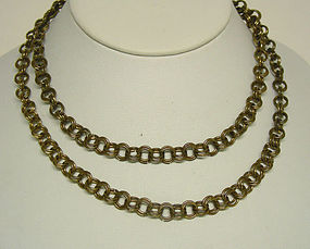Antique Victorian Gold Chain