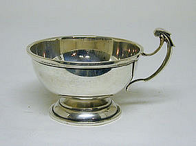 A Sterling Silver Wine Taster's Cup, ca. 1930