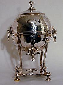 Sheffield Plate Tea Urn