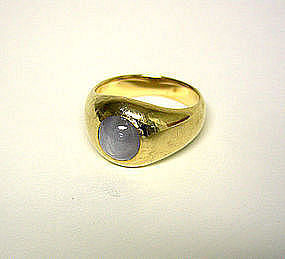 Vintage 14k Gold And Star Sapphire Ring