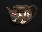 Japanese Banko teapot, 19th century