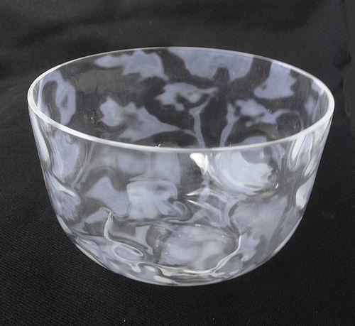 English John Walsh Walsh opaline bowl, c 1900