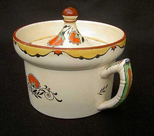 Minton early Deco mustard pot