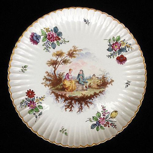 A Samson Höchst / Hochst large dish, late 19th century